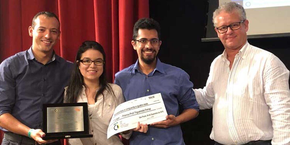 Trabalho sobre comparação entre TBM e NATM vence o Prêmio Prof. Figueiredo Ferraz 2018