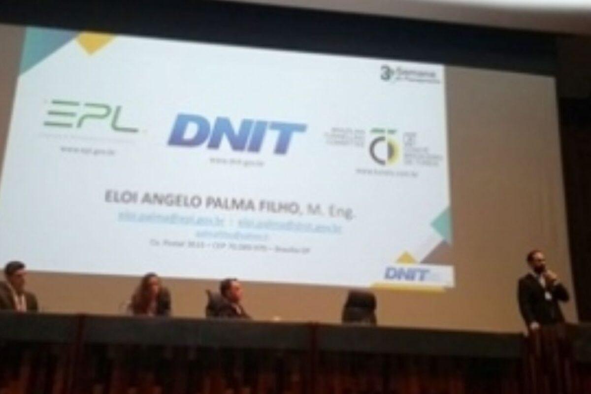 Diretor do CBT aborda os benefícios dos túneis na 3ª Semana de Planejamento do DNIT