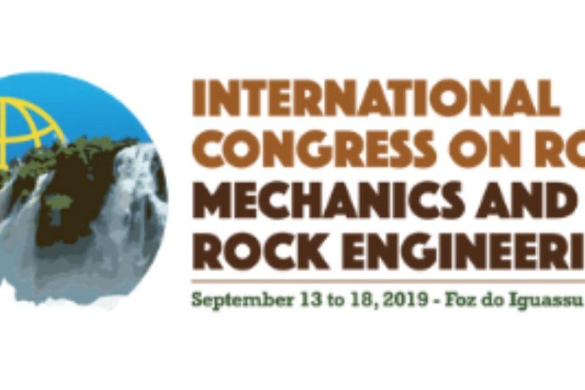 Congresso Internacional de Mecânica das Rochas no Brasil está marcado para setembro deste ano