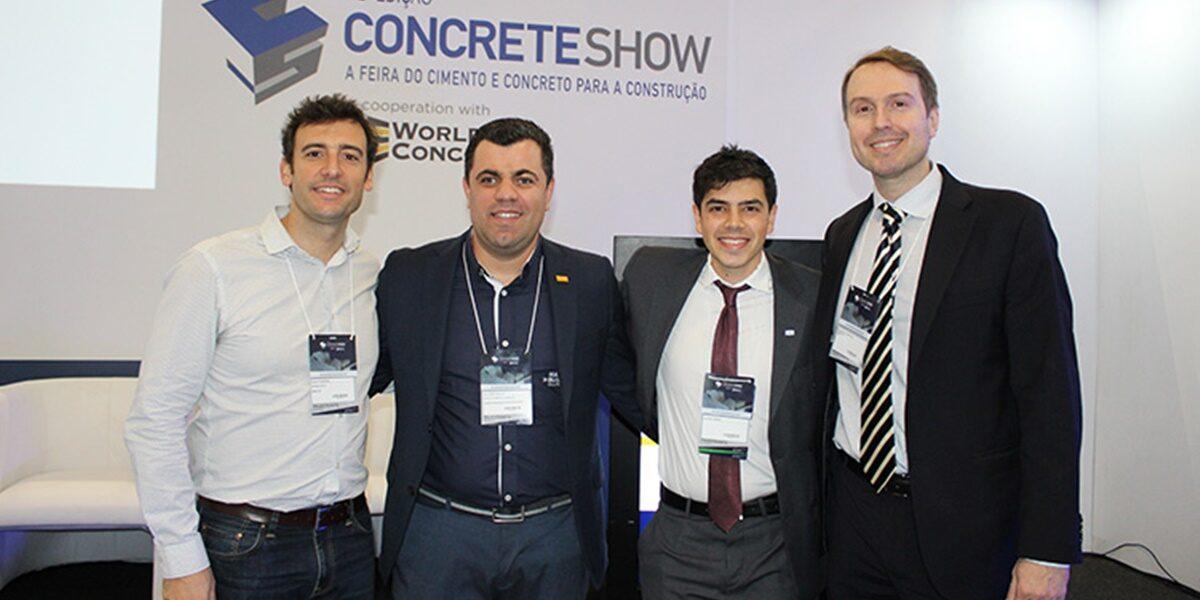 Impermeabilização foi tema do CBT no Concrete Show 2019