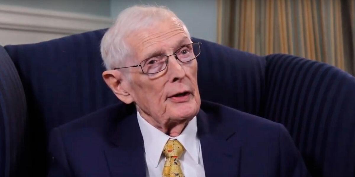 Harvey Parker recebe o prêmio ITA Lifetime Achievement