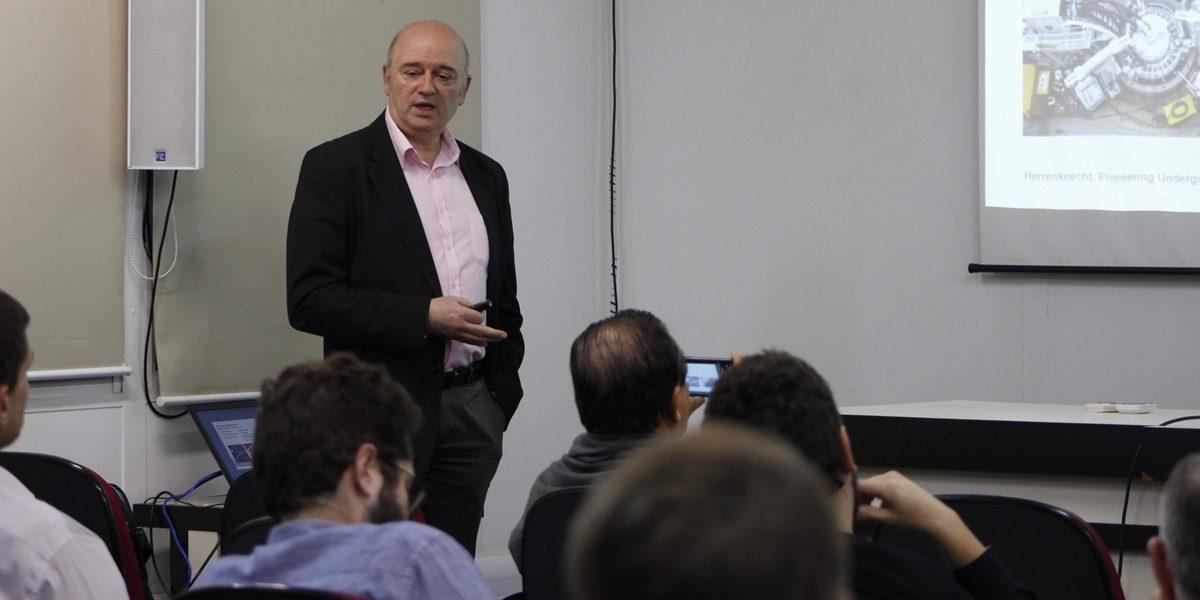 Edson Peev apresenta solução inovadora para construção de poços verticais