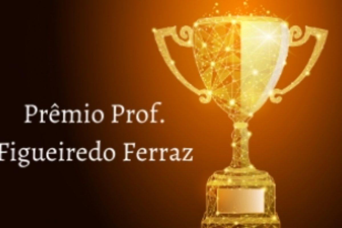 Inscrições para o Prêmio Figueiredo Ferraz vão até julho
