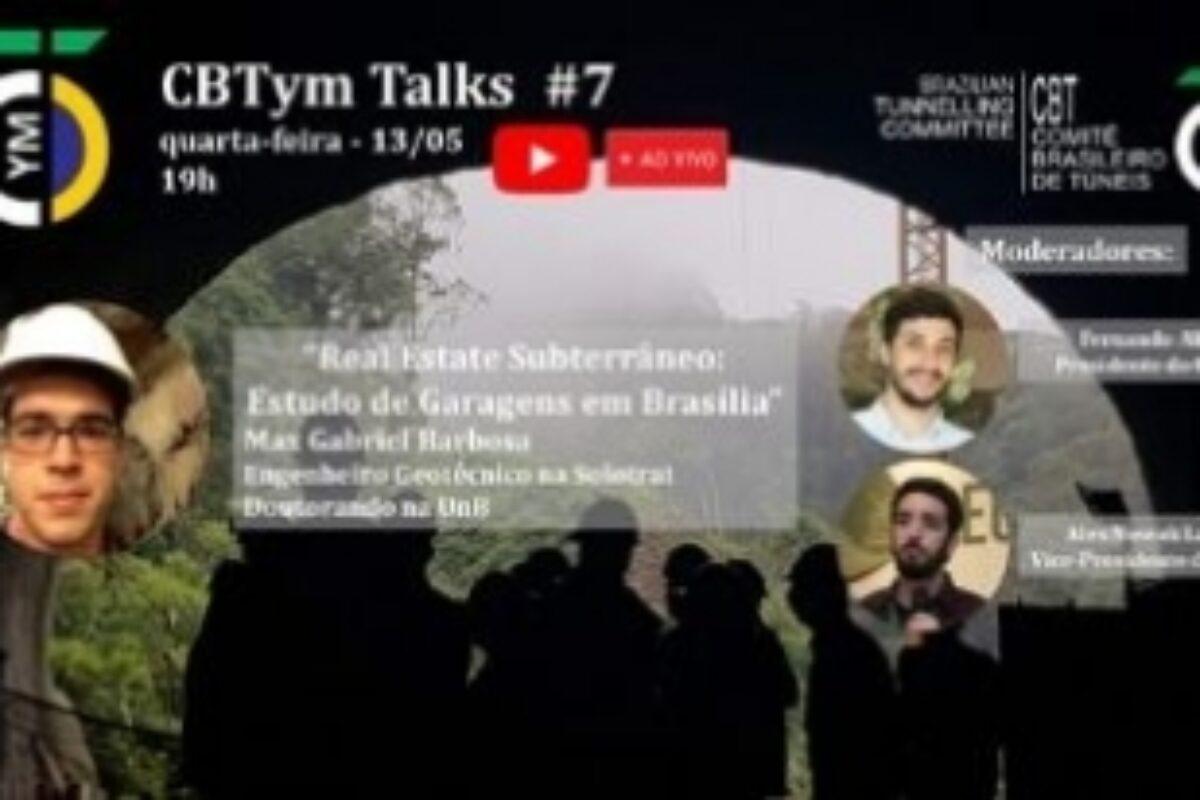 CBTym Talks #7 – Real State Subterrâneo: Estudo de Garagens em Brasília