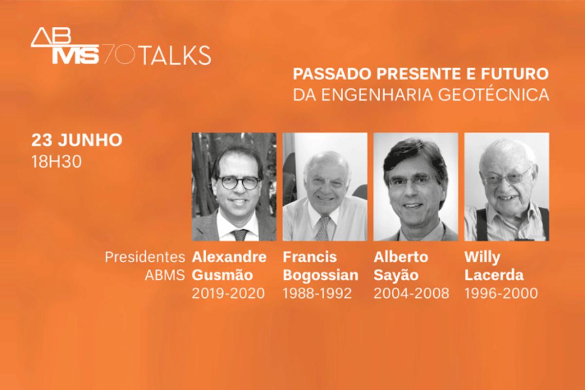 ABMS realiza primeira live com ex-presidentes dia 23/6, às 18h30