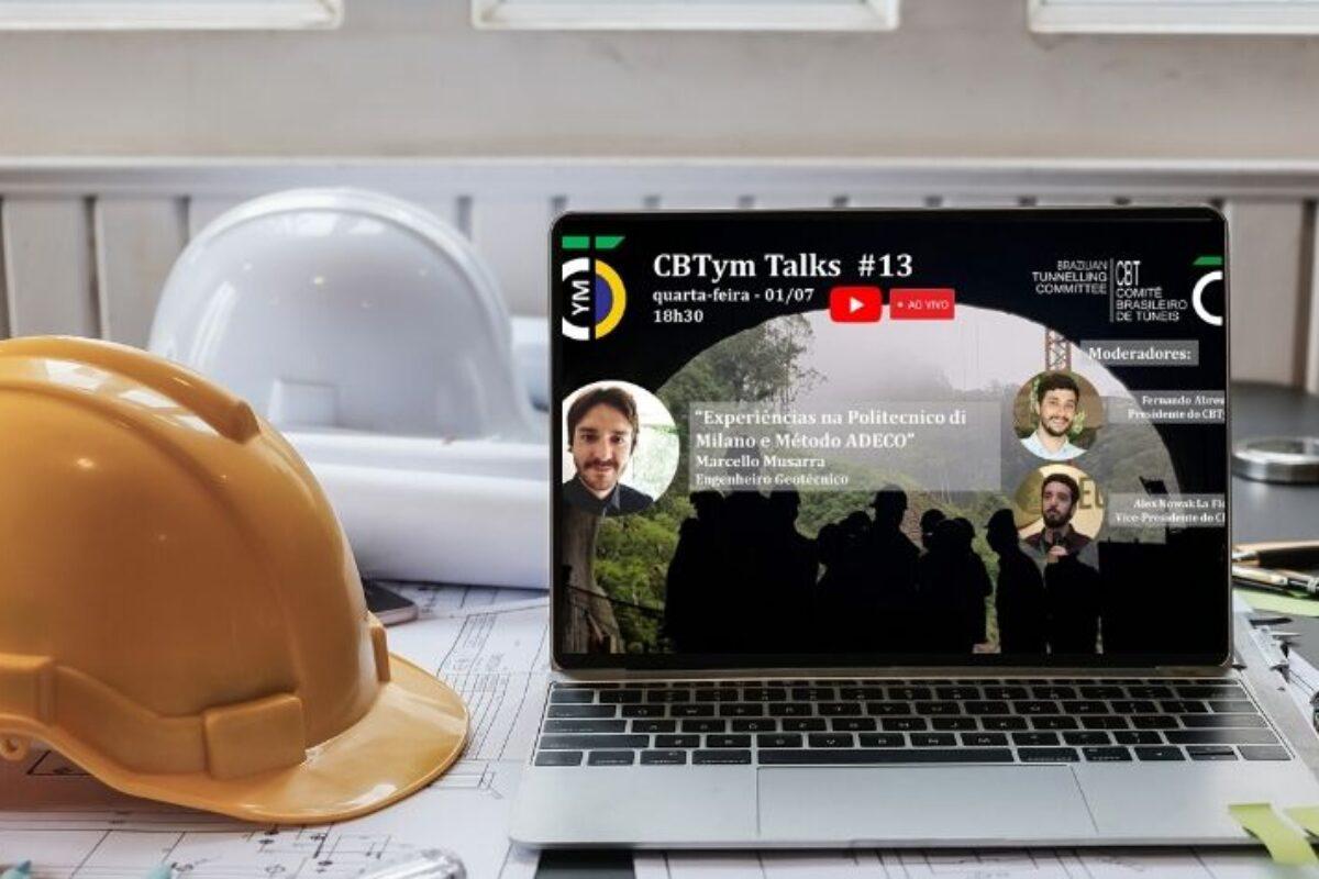 """""""Experiências na Politecnico di Milano e Método ADECO"""" é tema do CBTym Talks #13. Dia 1/7, às 18h30"""