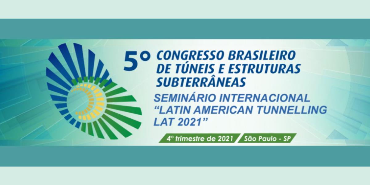 Site do 5º Congresso Brasileiro de Túneis está no ar. Conheça!