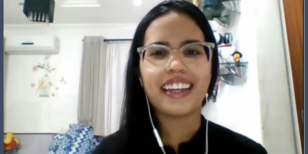 Engenheira Manoela Castro submete trabalho ao 5º CBT. Saiba mais e apresente seu resumo até 7/2